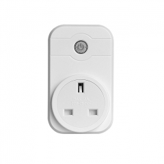 Smart WiFi Socket Charging Port Remote Control WiFi Wireless Mains Connection Home Plug (UK Version) - White