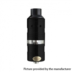 ULTON Gevolution V2 Style 316SS 23mm Mesh RTA Rebuildable Tank Atomizer 4ml - Black