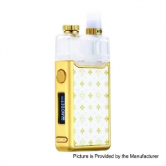 Authentic Orchid Vapor Orchid 950mAh 30W TC VW Variable Wattage Pod System Starter Kit 3ml/0.8ohm - Nikki White