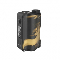 Authentic DOVPO Topside Dual 18650 200W TC VW APV Squonk Box Mod 10ml - Black Gold