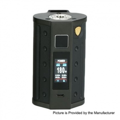 Authentic DEJFVU DJV D7 180W TC VW Variable Wattage Box Mod - Black