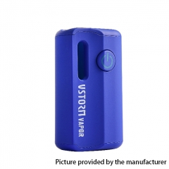 Authentic Vapor Storm M1 800mAh VV CBD Mod - Blue
