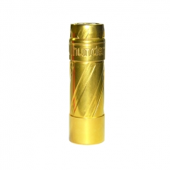 El Th V3 Style 18650/20700/21700 Hybrid Mechanical Mod 24mm - Brass