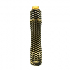 Pur Viper Style 18650/20700/21700 Hybrid Mechnical Mod 29mm Kit - Black Gold