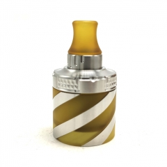 Coppervape Spica Pro Helix kit (SS316+PEI version) - Silver Yellow