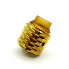 Viper Style 29mm RDA Rebuildable Dripping Atomizer - Gold