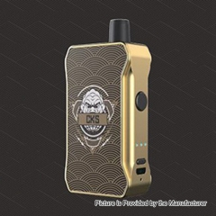 Authentic CKS Dagger Junior 1000mAh CBD Vaporizer Starter Kit 3ml - Gold Black