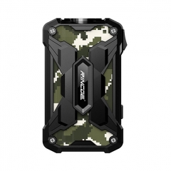 Authentic Rincoe Mechman 228W TC VW Variable Wattage Box Mod Dual 18650 - Steel Wing Camo Black