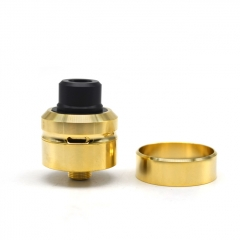 Daywon Style 22mm RDA Rebuildable Dripping Atomizer w/BF Pin/ 24mm Beauty Ring - Gold