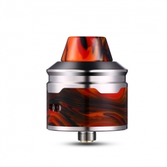 Authentic Aleader Rocket 24mm RDA Rebuildable Dripping Atomizer w/BF Pin - Red