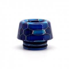 Clrane 810 Replacement Mushroom Style Resin Drip Tip - Blue