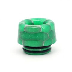 Clrane 810 Replacement Mushroom Style Resin Drip Tip - Green