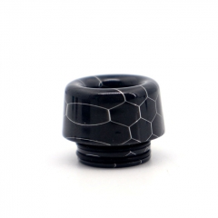 Clrane 810 Replacement Mushroom Style Resin Drip Tip - Black