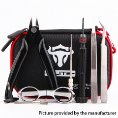 Authentic ThunderHead Creations THC Tauren Tool Kit Elite V1 - Screwdriver + Pliers + Scissors + Tweezers + Coiling Jig