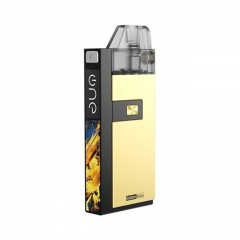 Authentic OneVape Golden Ratio 25W 1100mAh Pod System Starter Kit 2ml/1.1ohm - Gold
