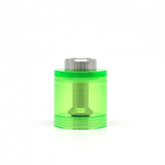 ULTON Replacement PMMA Bell Cap w/Short Chimney for FEV 3/4/4.5 Atomizer 3.5ml - Green