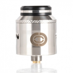 Authentic Augvape X Twisted Messes Occula 24mm BF RDA Rebuildable Dripping Atomizer - Silver