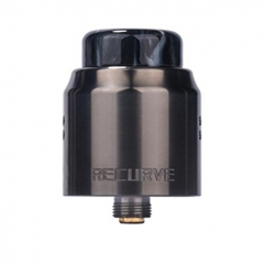 Authentic Wotofo Recurve Dual 24mm RDA Rebuildable Dripping Atomizer w/ BF Pin - Gun Metal