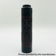 Vazzling Pur Slim Piece Style 18650 Mechanical Mod Kit 25mm/26mm - Black Red