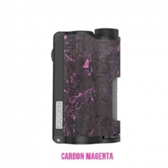 Authentic DOVPO Topside Dual 18650 200W TC VW APV Squonk Box Mod 10ml - Carbon Magenta