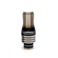 Replacement 510 Acrylic Flat Drip Tip - Black