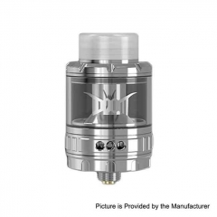 Authentic Damn Vape DOOM Mesh 26mm RTA Rebuildable Tank Atomizer 4ml - Silver