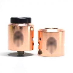 Terk V2 Style 24mm/25mm RDA Rebuildable Dripping Atomizer w/ BF Pin - Copper