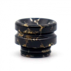 Replacement 810 Resin Drip Tip 1pc - Black Gold
