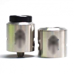 Terk V2 Style 24mm/25mm RDA Rebuildable Dripping Atomizer w/ BF Pin - Silver