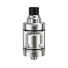 Authentic Ambition-Mods GATE 22mm MTL RTA Rebuildable Tank Atomizer 2ml - Silver