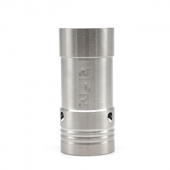 Hellfire V6 Style 316SS 18350 Hybrid Mechanical Tube Mod 22mm - Silver