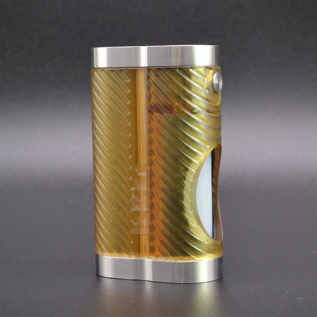 ULTON Hellfire Cobra Style 18650 Squonk Mod w/7ml Bottle - Yellow