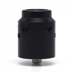 Vazzling Kali Style 25mm RDA Rebuildable Dripping Atomizer w/BF Pin - Black