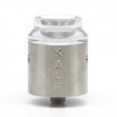 Vazzling Kali Style 25mm RDA Rebuildable Dripping Atomizer w/BF Pin - Silver