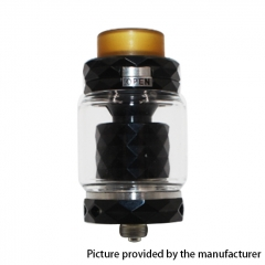 Authentic Marvec Priest V2 316SS 27mm RTA Rebuildable Tank Atomizer 4.2ml - Black