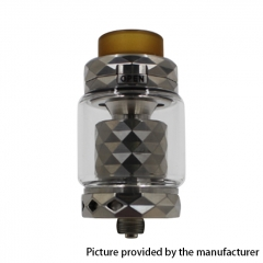 Authentic Marvec Priest V2 316SS 27mm RTA Rebuildable Tank Atomizer 4.2ml - Silver