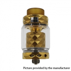 Authentic Marvec Priest V2 316SS 27mm RTA Rebuildable Tank Atomizer 4.2ml - Gold