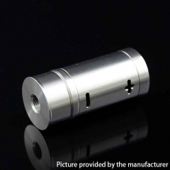 Authentic Cool Vapor Takit Mini 316SS 18350 Mechanical Mod  - Silver