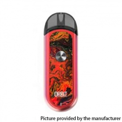Authentic ThinkVape Orbit 1100mAh Pod System Starter Kit 3ml/0.6ohm/1.2ohm - Red