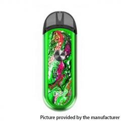 Authentic ThinkVape Orbit 1100mAh Pod System Starter Kit 3ml/0.6ohm/1.2ohm - Green