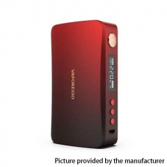 Authentic Vaporesso GEN 220W TC VW Variable Wattage Box Mod - Red