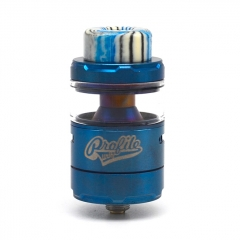 Profile Unity Style 25mm RTA Rebuildable Tank Atomizer 5ml - Blue