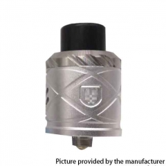 RH X Style 24mm RDA Rebuildable Dripping Atomizer w/ BF Pin - Silver