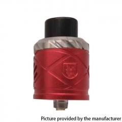 RH X Style 24mm RDA Rebuildable Dripping Atomizer w/ BF Pin - Red