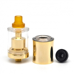 DOTMTL Style 22mm RTA Rebuildable Tank Atomizer - Gold