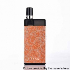 Authentic CoilART BRON 25W 950mAh POD System Starter Kit 1.0ohm/2ml - Orange