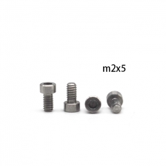 4pcs Replacement Screws for ULTON 23mm Gevolution RTA - M2x5