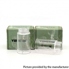 YUHETEC Replacement Glass Tank for Aspire Nautilus RTA 2pcs - 3ml
