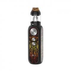 Authentic OBS Cube X 80W VW Variable Wattage Box Mod 18650 w/Atomizer Kit 0.2ohm/0.15ohm/4ml - Lost Temple