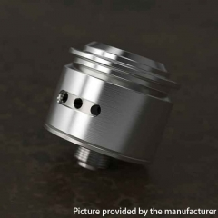 Le Concorde Styled RDA 316SS Rebuildable Dripping Atomizer by YFTK - Silver